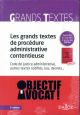 LES GRANDS TEXTES DE PROCEDURE